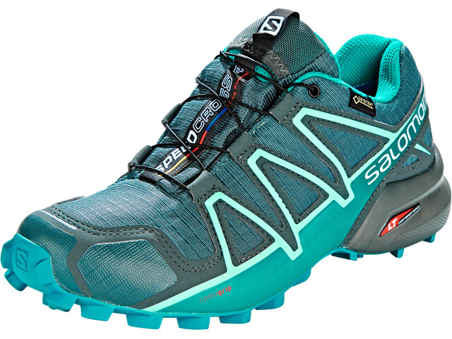 Salomon Speedcross 4 GTX Kengät Naiset, balsam green/tropical green/beach glass